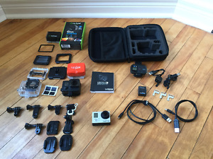 GoPro Hero 3 Black Edition 4K- 6Hr Battery and other Accessories