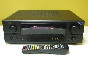Denon AVR-1706 A/V 7.1 Receiver 110 watts a Channel with Remote
