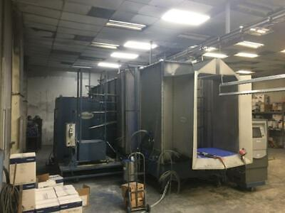 Nordson Ck5 Cyclo-kinetic Powder Coating Booth System - Refurbished