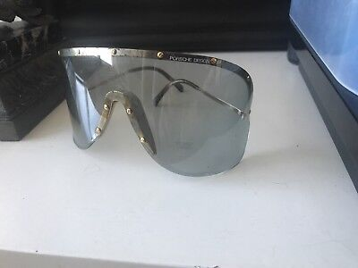 CARRERA PORSCHE DESIGN Wrap-around Sunglasses...5620 40...1980s...FREE SHIP!
