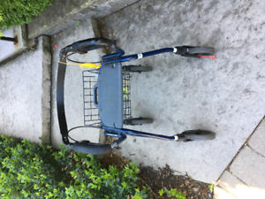 Used Invacare Bartiatric Rollator for Elderly or Disabled