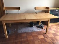 Large expandable dining table / desk £85