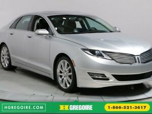 2013 Lincoln MKZ A/C TOIT CUIR BLUETOOTH CAMERA RECUL MAGS