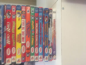 14 Thomas the train DVDS