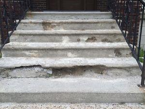 Porches and concrete steps  repairs Windsor Region Ontario image 3