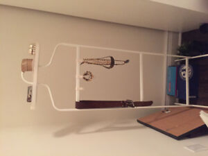 Ikea Clothing and jewelry stand!