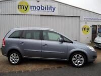 Vauxhall Zafira Elite Gowrings Wheelchair Disabled Accessible Adapted Car WAV