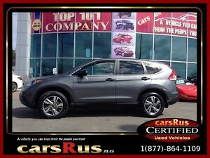 2013 Honda CR-V LX AWD- 2 year Unlimited km warranty included!