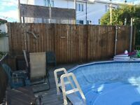 Pool deck/ deck piscine