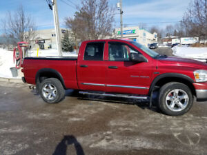 2007 Dodge Ram Quad cab 1500 slt from Calgary with towing packag