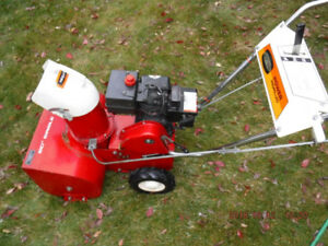 "Viking  20"" single stage self-propelled snow blower"