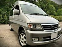 1999 MAZDA BONGO 2.5 V6 PETROL FULL SIDE CONVERSION HIGHTOP! NO RUST. STUNNER!