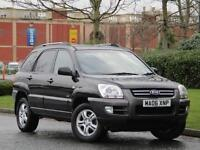 Kia Sportage 2.0 XE 4wd 4x4 Black Petrol 1 OWNER FROM NEW + 8 SERVICE STAMPS