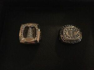 Bagues de la Coupe Stanley 1986/1993