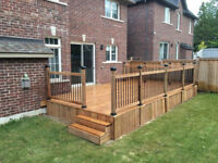 Quality Deck & Fence Build & Complete Landscaping