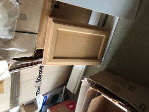 TWO NEW MAPLE MEDICINE CABINETS FOR SALE