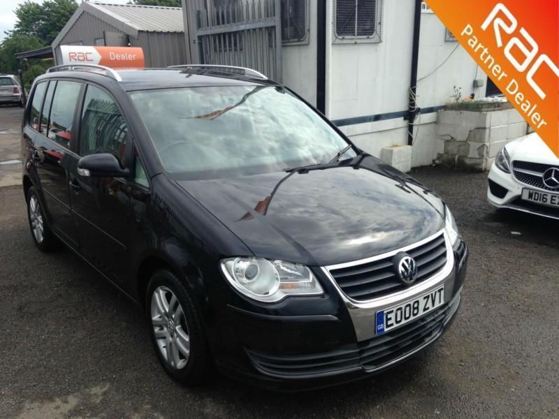 2008 Volkswagen Touran SE TDI Diesel black Manual