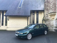 2008 Jaguar X-TYPE 2.2 Turbo Diesel 6 Speed 5 Door Estate Green
