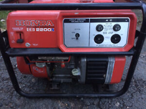 Honda Generator EB2200X (Price reduced)