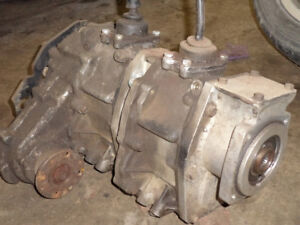 Toyota dual Transfer case GM TH350 adapter 4x4