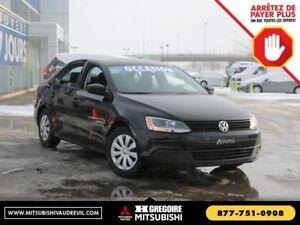 2014 Volkswagen Jetta Trendline+ A/C MP3/AUX BAS*KMS Fiable