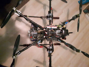 Drone - Hexacopter - Custom Carbon Fibre