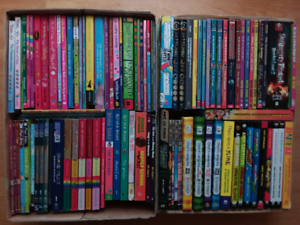 Children's books series and assorted novels