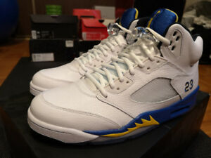 185aa9e994a881 DS Nike Air Jordan 5 V Laney 11 ADIDAS ROYAL GAMMA YEEZY BRED