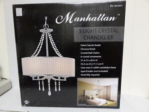 Manhattan 5 Light Chandelier Costco - Brand New In Box Kitchener / Waterloo Kitchener Area image 3