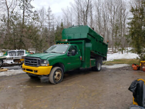 2004 Ford F550 Wood Chip Truck