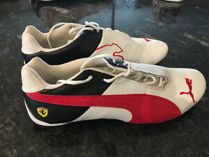 MEN'S SIZE 11 RED FERRARI PUMAS