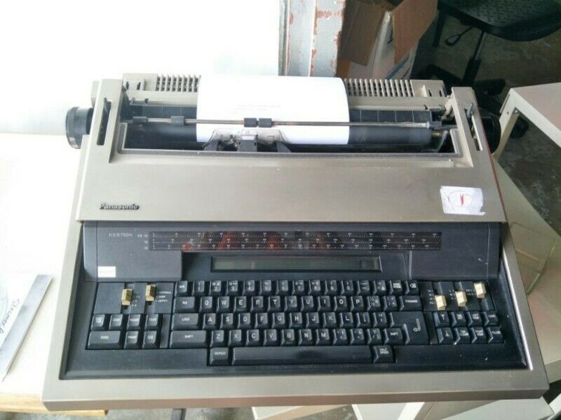 Vintage Panasonic KX-E700m Electronic Type Writer for sale @ $100 each