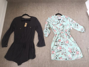 Both brand new with tags dress & jumper