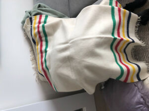 Hudson Bay Co. Caribou Throw - LIKE NEW (Never Used)