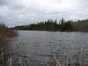 YOUR CHOICE-- OF TWO WATERFRONT LOTS, NORTHERN ONT.