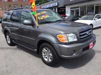 2003 Toyota Sequoia LIMITED iFORCE 4WD..LOADED...8 SEATER..MINT City of Toronto Toronto (GTA) Preview