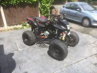Bashan bs200s/7 road legal quad / Yamaha raptor