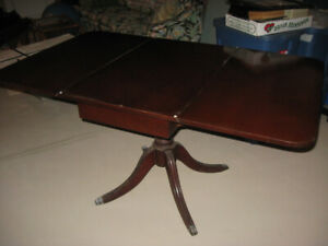 DUNCAN PHYFE DINING TABLE - $200.00