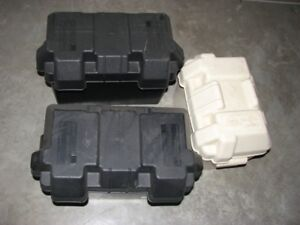 2 Attwood Grade 27 Battery Boxes