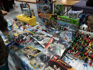 Lego minifigures and sets at Cole harbour place 9-4 today