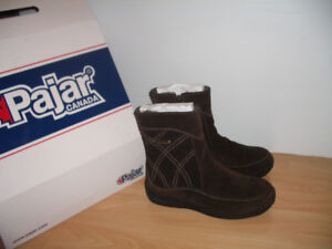 "1 time dressed """" PAJAR """" mouton bottes d'hiver for size 8 US"