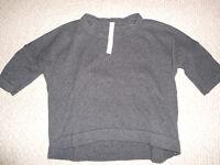 Brand New Lululemon Bahtki Reality Short Sleeve Sweater Sz 4