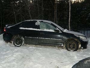 2005 Honda Civic Sedan part out
