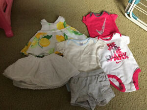 Baby girl's clothes 3-6 months