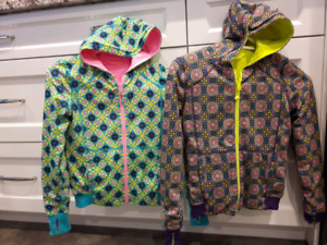 Ivivva reversible jackets