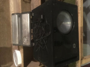 Car stereo, amp and subwoofer