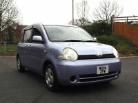 RARE 2004 04 TOYOTA SIENTA 1.5 VVT-i AUTOMATIC 7 SEATER YARIS VERSO PX SWAP