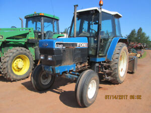 7740 Ford tractor