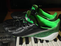 Souliers/Shoes soccer Adidas F50 Adizero Leather (Size 8) (NEGO)