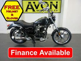 Lexmoto Michigan 125 - 125cc Custom Cruiser Chopper Motorcycle *FINANCE*